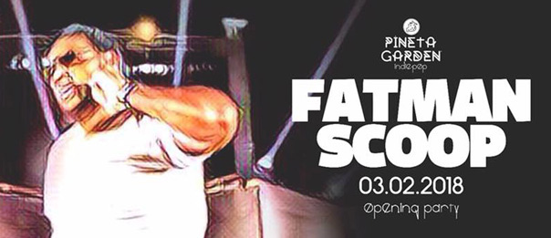 Fatman Scoop - Opening Party al Pineta Garden di Sassocorvaro