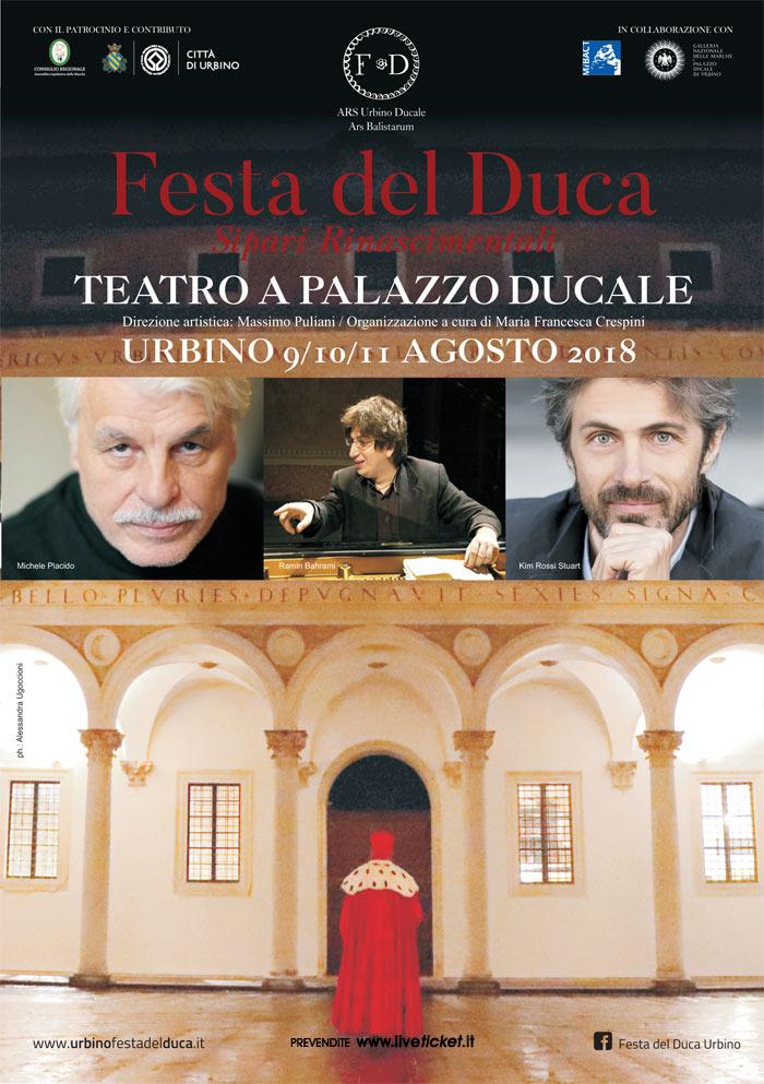 Festa del Duca 2018 al Palazzo ducale di Urbino