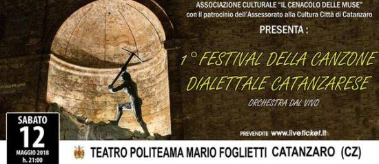 Festival della canzone dialettale catanzarese al Teatro Politeama di Catanzaro