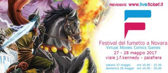 Festival del Fumetto al Palafiera di Novara