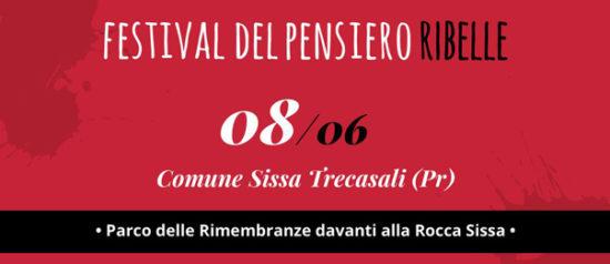 Festival del pensiero Ribelle al Parco della Rocca dei terzi a Sissa Trecasali