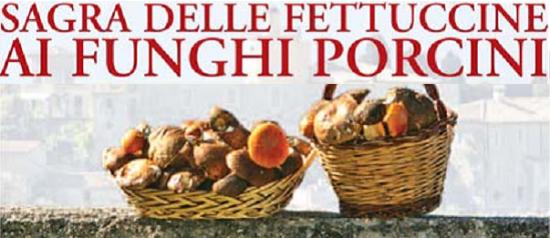 Sagra delle fettuccine ai funghi porcini a Casaprota