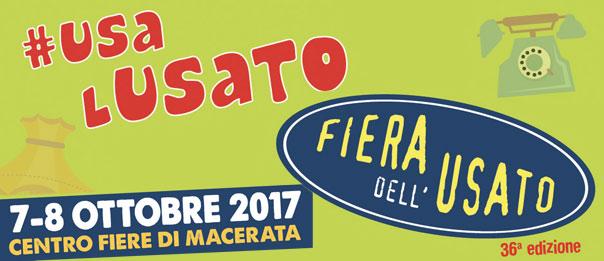 Usa l'usato - Fiera Campionaria dell'usato ottobre 2017 al Centro fiere di Macerata