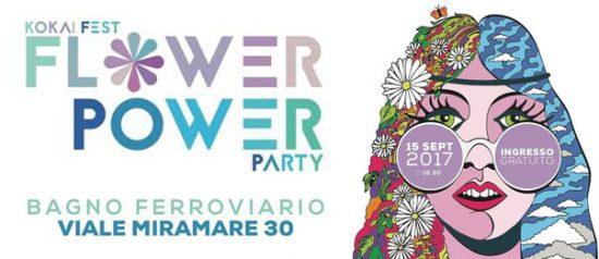 Flower Power Party a Bagno Ferroviario a Trieste