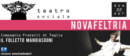 Il folletto mangiasogni al Teatro Sociale di Novafeltria