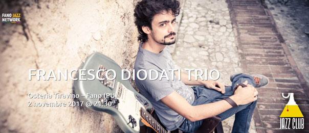 "Jazz Club ""Francesco Diodati Trio"" all'Osteria Tiravino a Fano"
