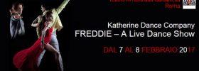 """Freddie """"A live dance show"""" al Teatro Ambra Garbatella di Roma"""