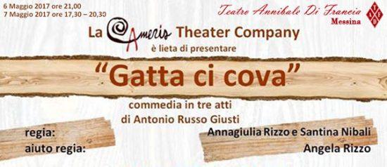 Gatta ci cova al Teatro Annibale di Francia a Messina