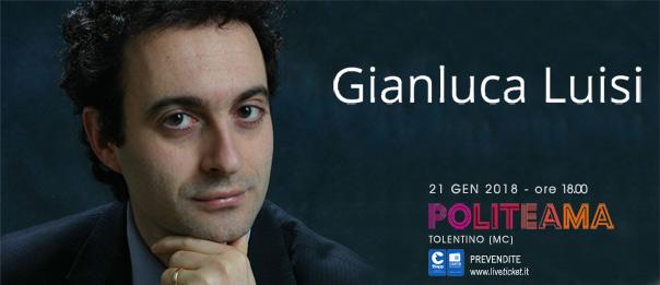 Gianluca Luisi al Politeama di Tolentino