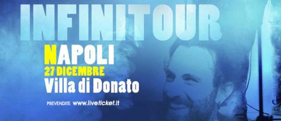 """Gio Evan """"INFINITour"""" a Villa Donato di Napoli"""