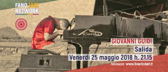 """Giovanni Guidi """"Salida"""" al Teatro Comunale di Cagli"""