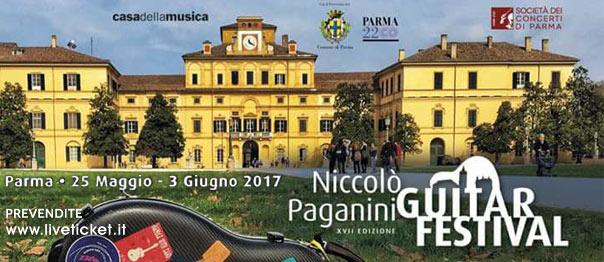 """Niccolò Paganini Guitar Festival 2017"" a Parma"