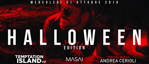 Halloween with Andrea Cerioli al Masai Club Cagli