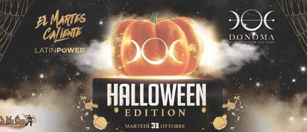 El Martes Caliente Halloween edition al Donoma di Civitanova Marche
