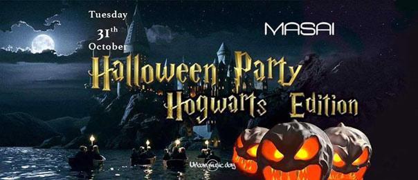 Halloween - Hogwarts Edition al Masai Club Cagli