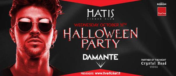Halloween Party - Andrea Damante al Matis Dinner Club di Bologna