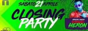 Closing party w/ Samuel Heron al Comoedia Club di San Nicolò
