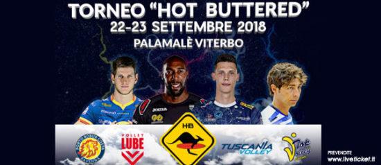 Torneo Tuscania Volley al PalaMalè a Tuscania