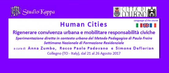 Human Cities al Villaggio Leumann a Collegno