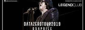 Renato Zero Tribute - Data Zero - Icaro Tour 2019 al Legend Club di Milano