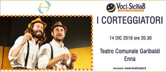 I Corteggiatori al Teatro Garibaldi di Enna