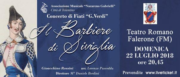 Il Barbiere di Siviglia al Teatro Romano di Falerone