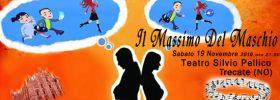 """""""Il Massimo Del Maschio"""" al Teatro Silvio Pellico di Trecate"""