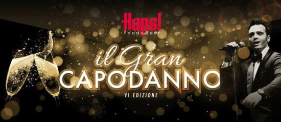 Il Gran Capodanno 2018 all'Hops Restaurant a Civitanova Marche
