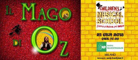 Il Mago di Oz il Musical al Teatro Silvestrianum di Milano