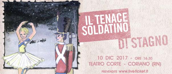 Il tenace soldatino di stagno al Teatro CorTe di Coriano