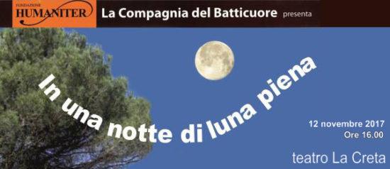 In una notta di luna piena al Teatro della Creta a Milano