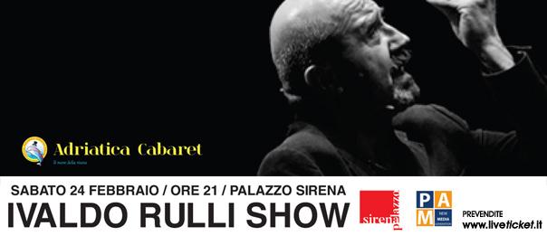 Ivaldo Rulli show al Palazzo Sirena a Francavilla al Mare