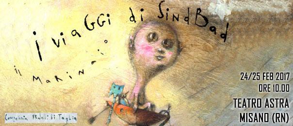 I viaggi di Sindbad il marinaio al Teatro Astra Misano Adriatico