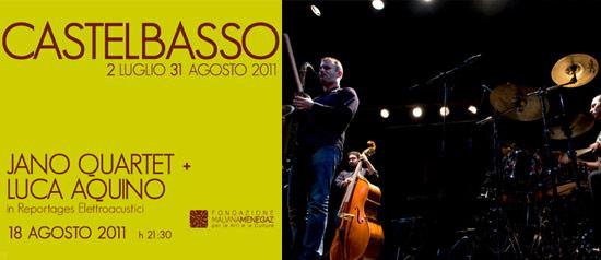 Jano Quartet + Luca Aquino