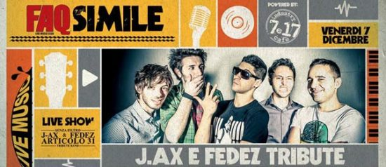 J.Ax & Fedez - Articolo31 Tribute Band al Faq Live Music Club a Grosseto