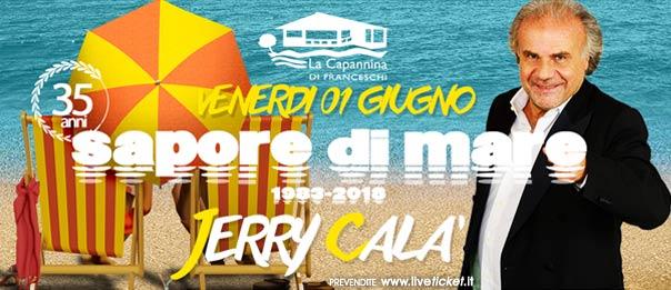 """Jerry Calà """"Sapore di mare"""" a La Capannina di Franceschi di Forte dei Marmi"""
