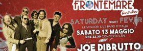 Joe Di Brutto in concerto al Ristorante Frontemare di Rimini