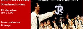 "Christmas concert ""John Paul II Choir"" al Teatro Auditorium di Jerago"