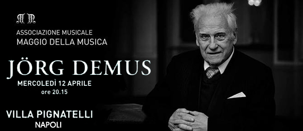 Jörg Demus in concerto a Villa Pignatelli a Napoli