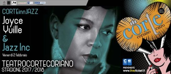 CorTeINNJazz - Joyce Yuille & Jazz Inc al Teatro CorTe di Coriano
