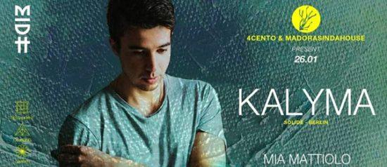 Kalyma al Ristorante 4cento di Milano