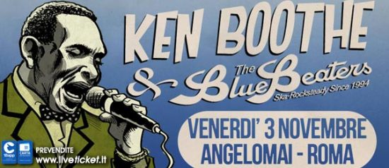 Ken Boothe & The Bluebeaters all'Angelo Mai di Roma
