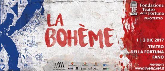 La Bohème al Teatro della Fortuna a Fano