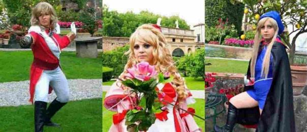 """""""Una spada per 3 indimenticabili rose"""" a Viareggio"""