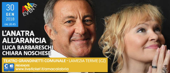 L'anatra all'arancia al Teatro Grandinetti di Lamezia Terme