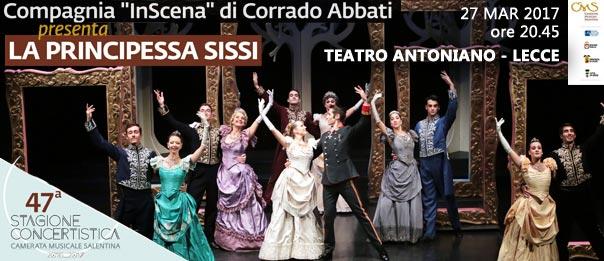 La principessa Sissi al Teatro Antoniano di Lecce