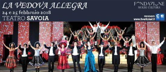 La vedova allegra al Teatro Savoia di Campobasso
