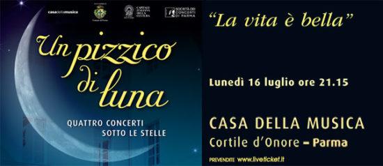 La vita è bella alla Casa della Musica a Parma