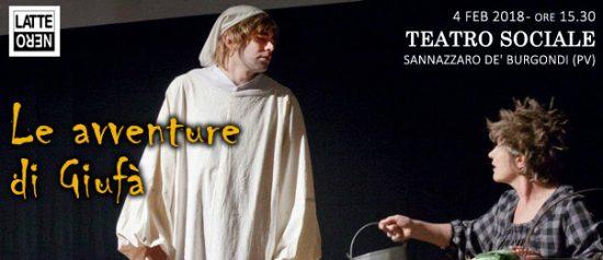 Le avventure di Giufà al Teatro Sociale a Sannazzaro de' burgondi