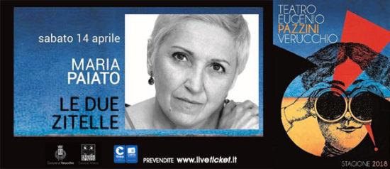 Maria Paiato - Le due zitelle al Teatro Pazzini di Verucchio